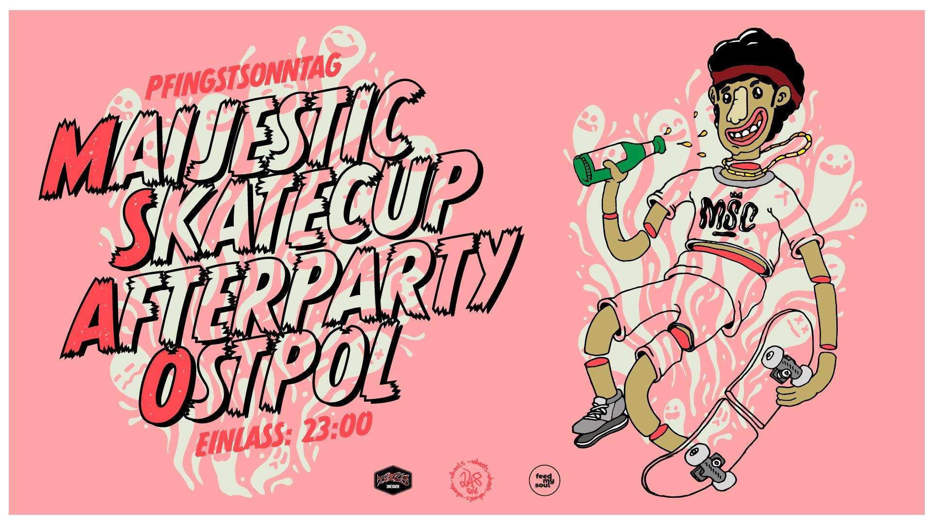Maijestic Skatecup 2019 Aftershowparty im Ostpol Dresden