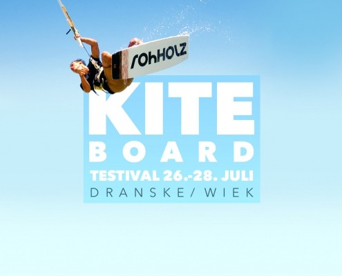 Rohholz Kiteboards beim Wittower Testival 2019