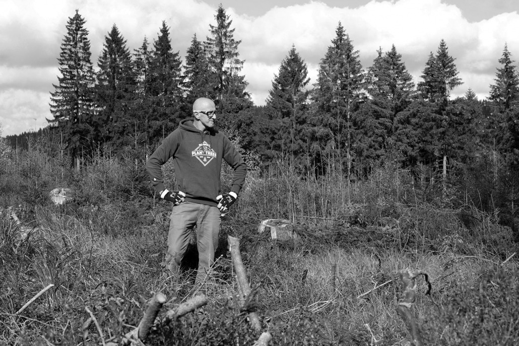 Finne in the woods - Rohholz Plant Trees 2018