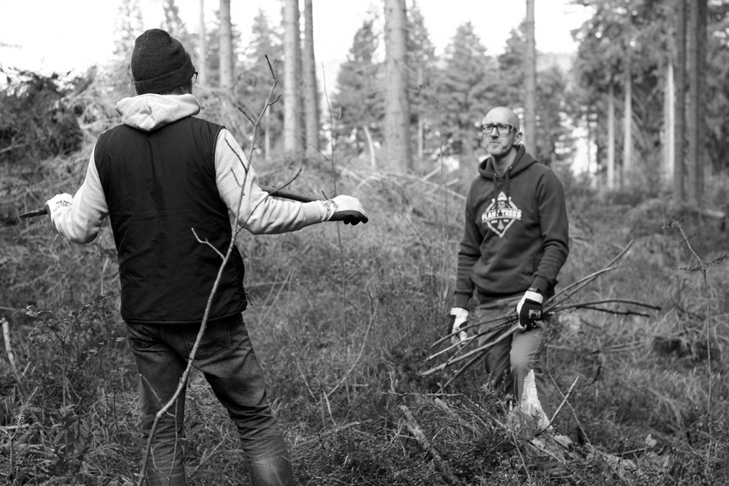 Forest Talk - Rohholz Plant Trees 2018