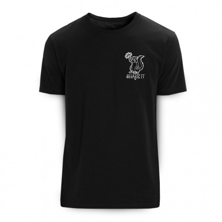 Shake it black T-Shirt - Rohholz