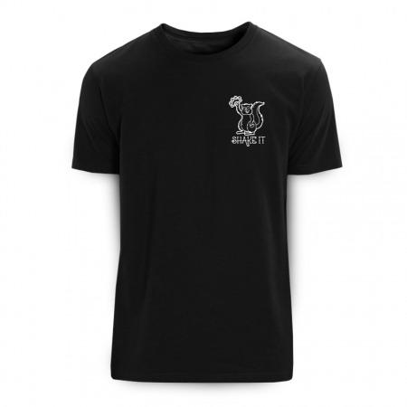 Shake it black T-Shirt - Rohholz