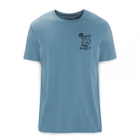 Shake It T-Shirt blue - Rohholz