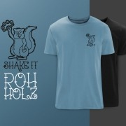 Rohholz Squirrel T-Shirts - Shake it!