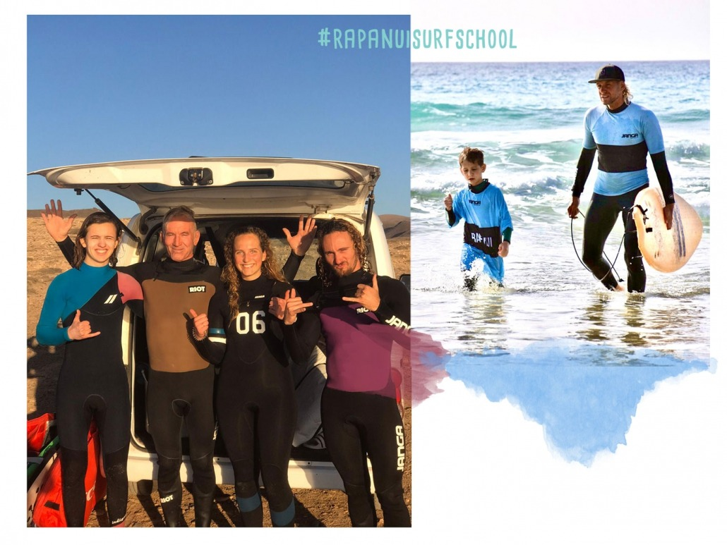 Rapa Nui Surfschool Supporter T-Shirt