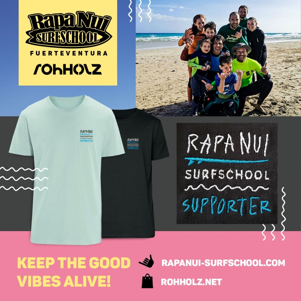 Rapa Nui Surfschool Supporter T-Shirt
