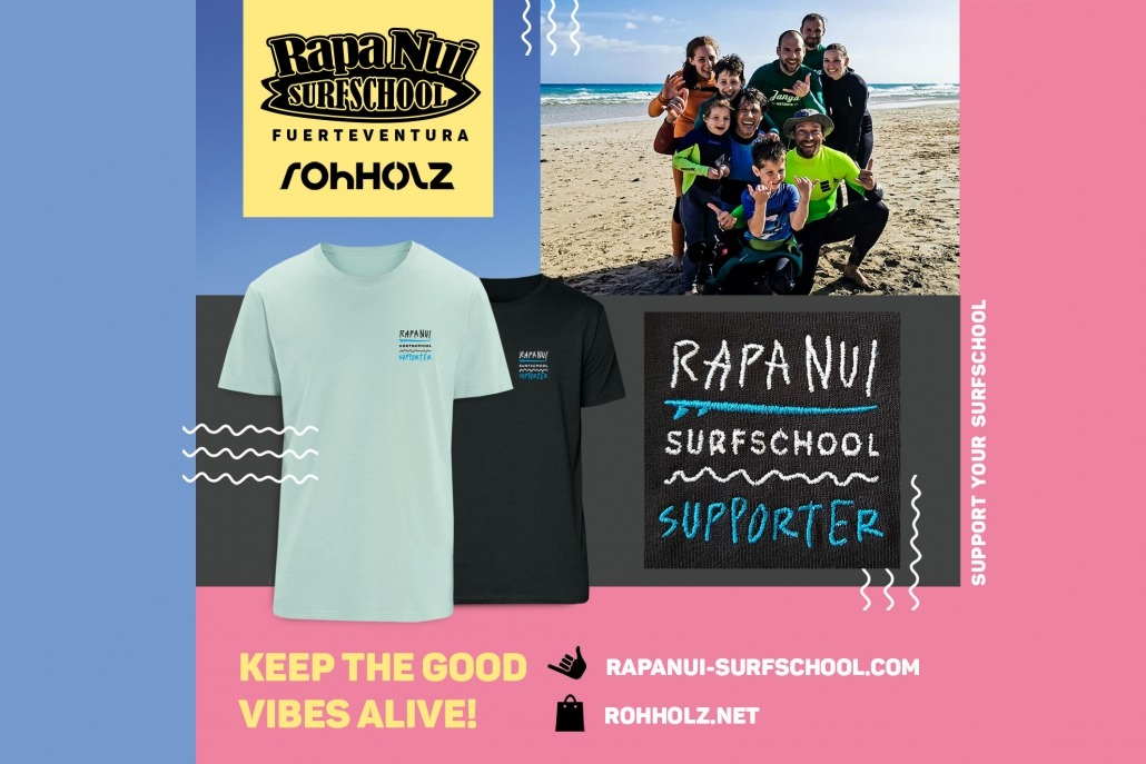 Support the Rapa Nui Surfschool